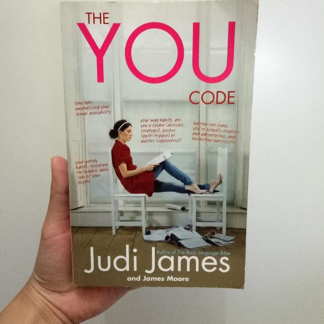 The YOU Code From The Body Language Bible Author