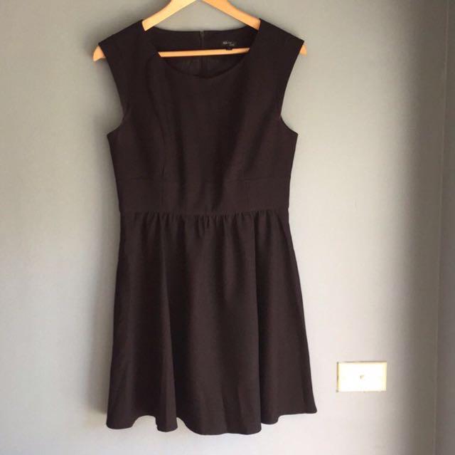 Tokito Black Structured Work Style Dress 12