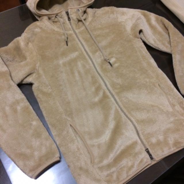 Uniqlo Fluffy Fleece Hoodie Jacket For Men