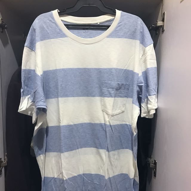 Uniqlo Striped Pocket Tee