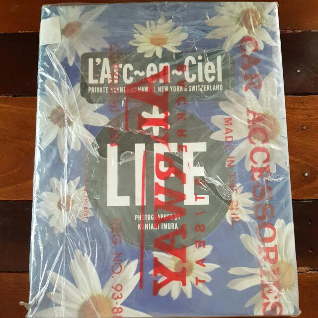 UNOPENED L'Arc~en~Ciel Original Photobook LIFE 1998