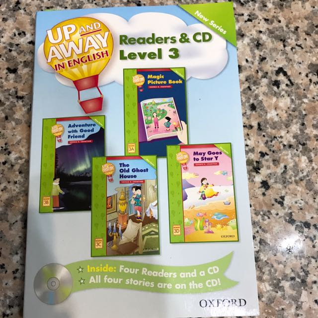 Up And Away Readers &CD Level 3