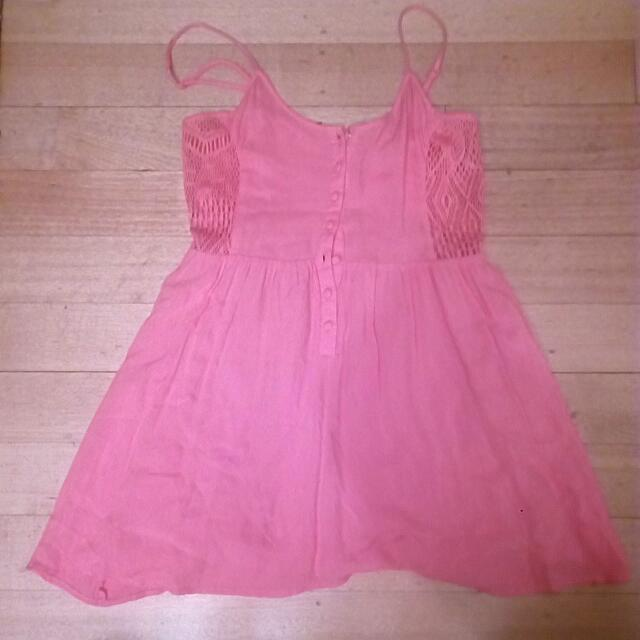 Valleygirl Peach/Pink Summer Dress