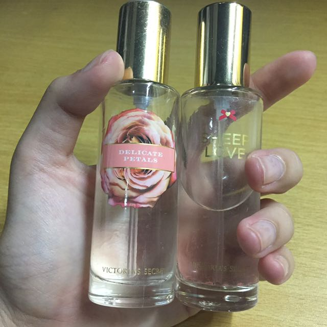 VICTORIA'S SECRET Sheer Love & Delicate Petals Perfumes