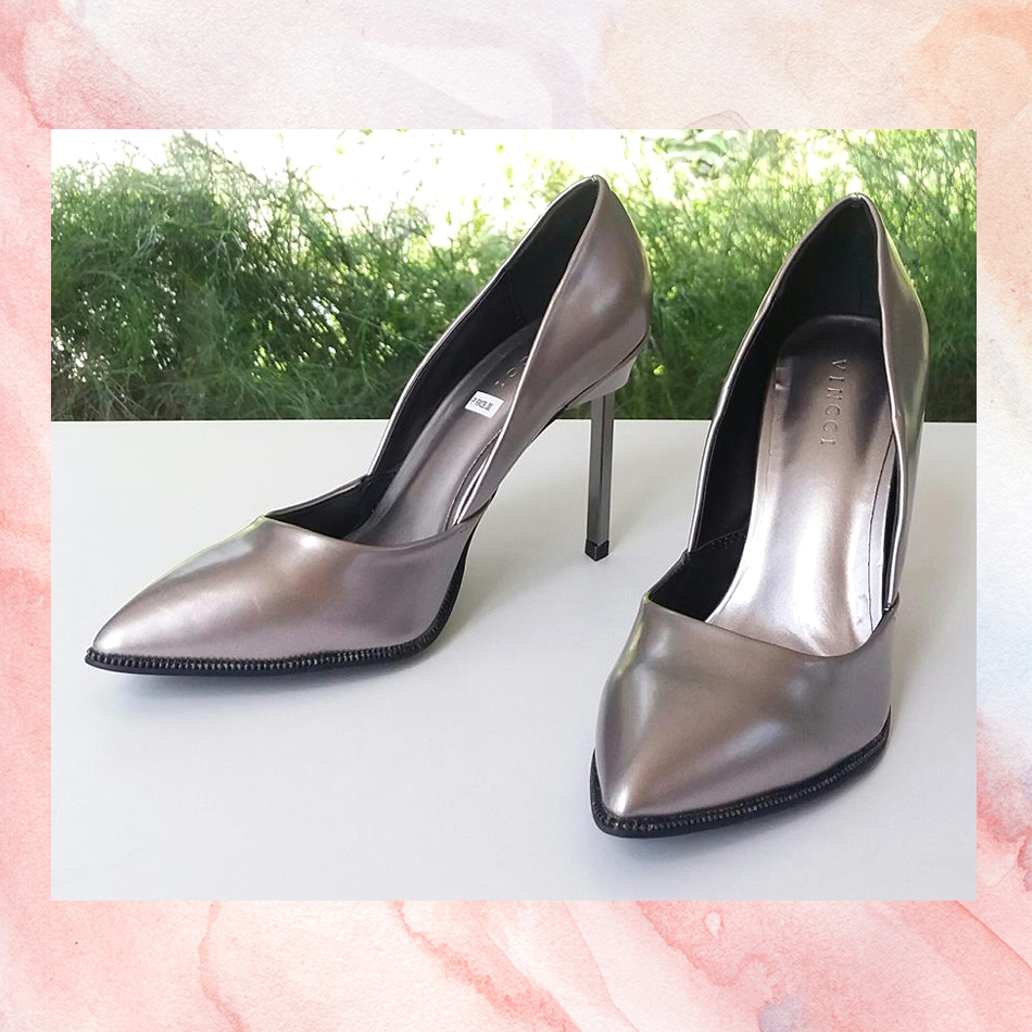VINCCI SHOES 073 PEWTER