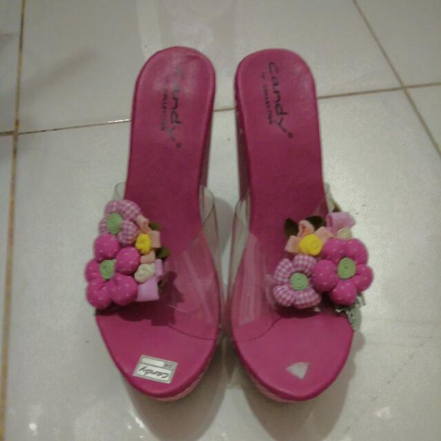 Wedges Candy Pink