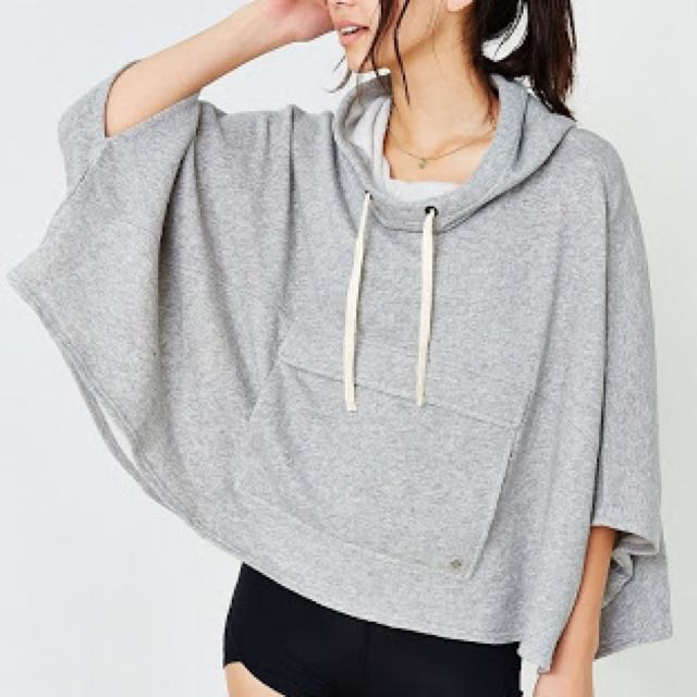 Urban Outfitters Poncho Hoodie