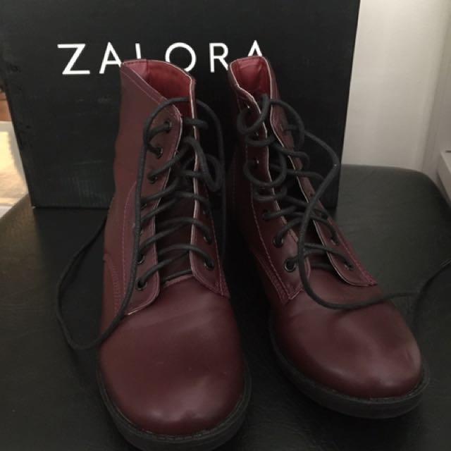 Zalora Brown Boots
