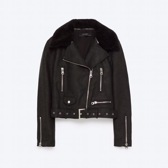 Zara Pleather Jacket