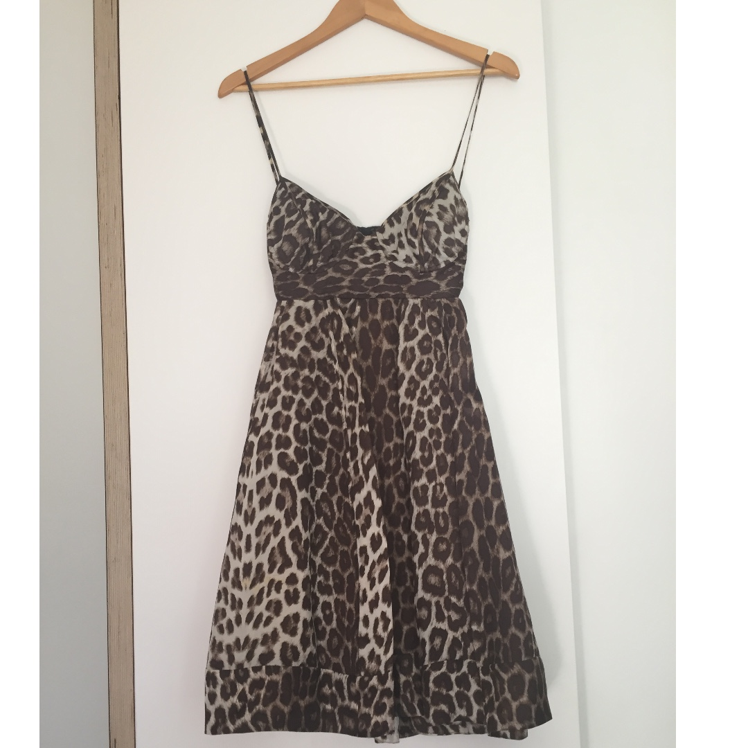 ZIMMERMANN Leopard Dress
