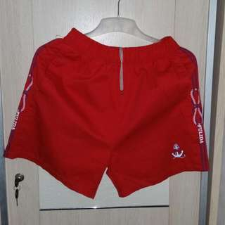 Red Sailor Short Pant