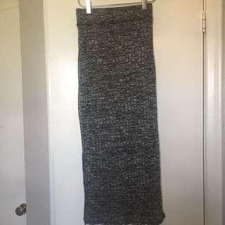 Wilfred Ribbed Maxi Skirt