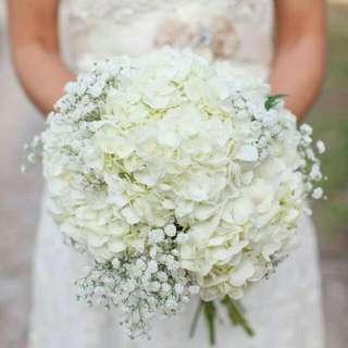 Gorgeous White Bouquet - Ellen