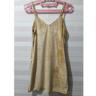 Outer Dress Velvet