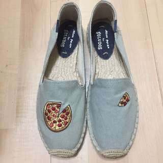 Asos購入 Soludos草編鞋 披薩pizza🍕