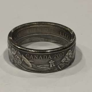 Canada 150 Collectors Coin Ring