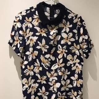 Zara - Floral Print Top