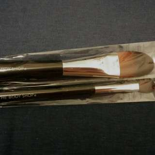 Brand New The Body Shop Makeup Brushes