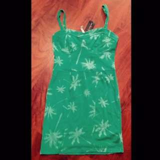 **NEW Free Fusion Size S 'Jungle Fever' Bodycon Bustier Mini Dress