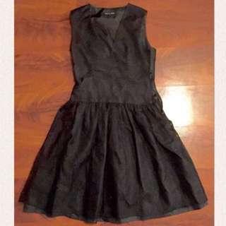 Smith & Miles Size 8 Black Lace Dress