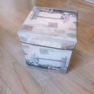 Cube Foot Stool With Storage