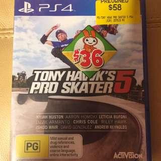 Tony Hawks Pro Skater 5 - Ps4 - Preowned