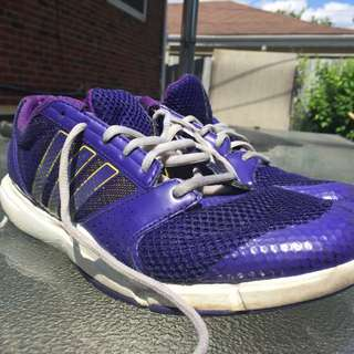 Purple Adidas Running Shoes