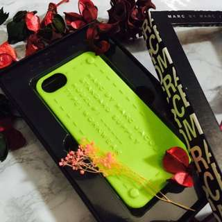 Marc by Marc Jacobs Phone Case, yellow