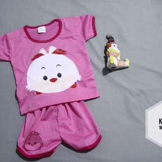Baju Baby Girlf Motif Ayam