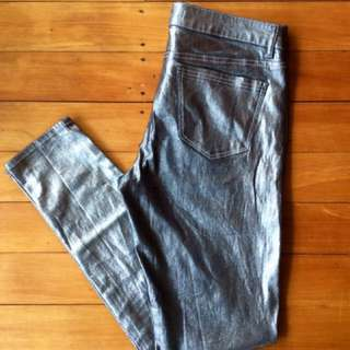 Country Road Charcoal Silver Wash Denim