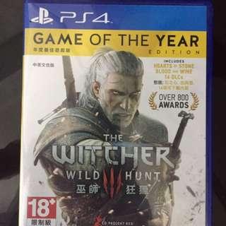 Ps4 獵巫3 Witcher 3整合DLC年度版