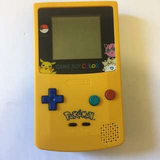 Nintendo Gameboy Pikachu Edition Pokemon