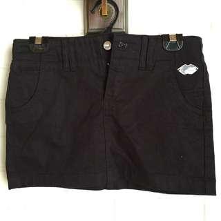 Black Mini Skirt - Ungaro Fever