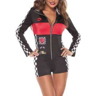 Race Car Driver/ Grid Girl Costume