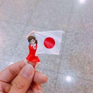 日本國旗杯緣子