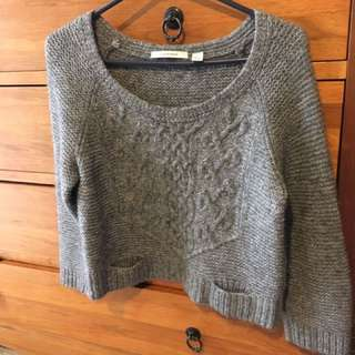Country Road Crop Knit