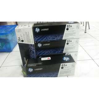 Cartridge Toner Bekas CF283A HP 83 A 325, Printer HP M127-M128