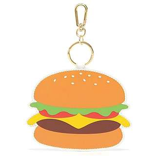 Charles And Keith Burger Keychain