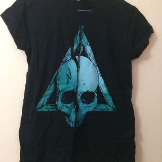 Deathly Hallows Harry Potter Tee Shirt Graphics