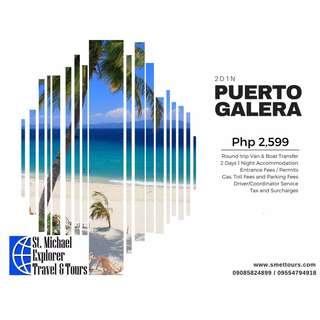 Puerto Galera Tour Package
