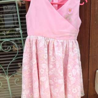 Girl's Pink Dress