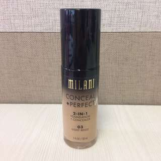 Milani Foundation (Conceal+Perfect)