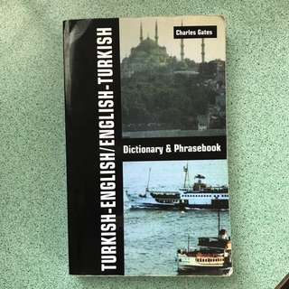 Learning Turkish Dictionary & Phrasebook