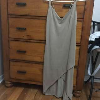M Suede Dress