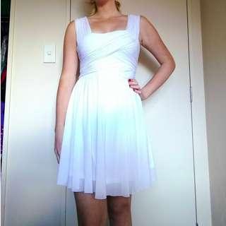 Cute Pagani White Dress
