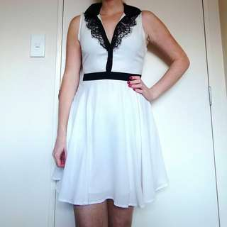 Cute Portmans White Dress