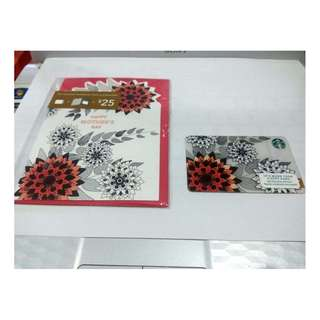 starbucks card mother day with greeting card