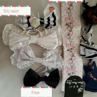 Lolita Accessory Lot