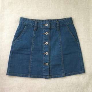 Junkfood Denim Skirt