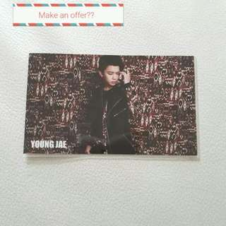 Youngjae Japan No Mercy Card Thingy